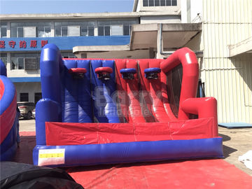 Custom Design Outdoor Sports Games 4 Baskets Inflatable Basketball Hoop