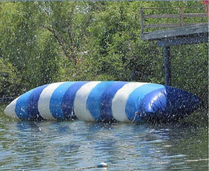 الصين Exicting Inflatable Water Toys Custom Water Blob Jumping Pillow مصنع